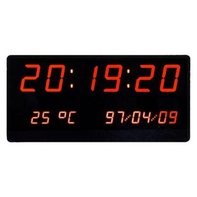 ساعت، تایمر و کرنومتر دیجیتال دیواری بزرگ