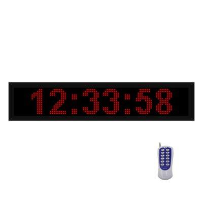 ساعت دیجیتال دیواری ، ساعت دیجیتال استخری