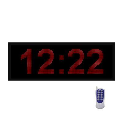 ساعت دیجیتال دیواری و استخری
