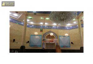 ساعت دیجیتال اذانگو مذهبی مسجدی حرم مسجد نیشکر اهواز - خوزستان