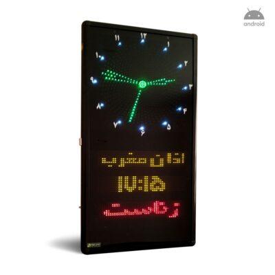ساعت حرم اذان گو مذهبی مسجدی مساجد مدل B3 عمودی