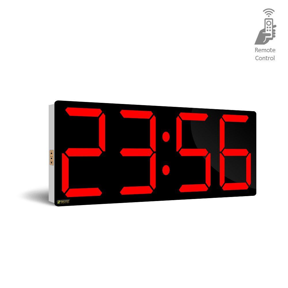 ساعت دیواری دیجیتالی بزرگ کارگاهی و کارخانه صنعتی مدل HM55