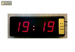 ساعت دیجیتال توکار وزارت علوم