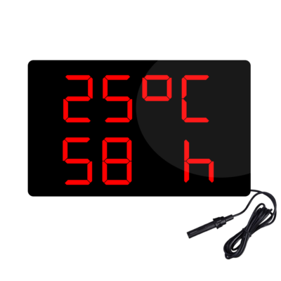 دماسنج و رطوبت سنج دیجیتال بزرگ مدل HT3648