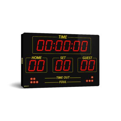 اسکوربورد دیجیتا فوتبال، فوتسال و والیبال چند منظوره ورزشی مدل EC75