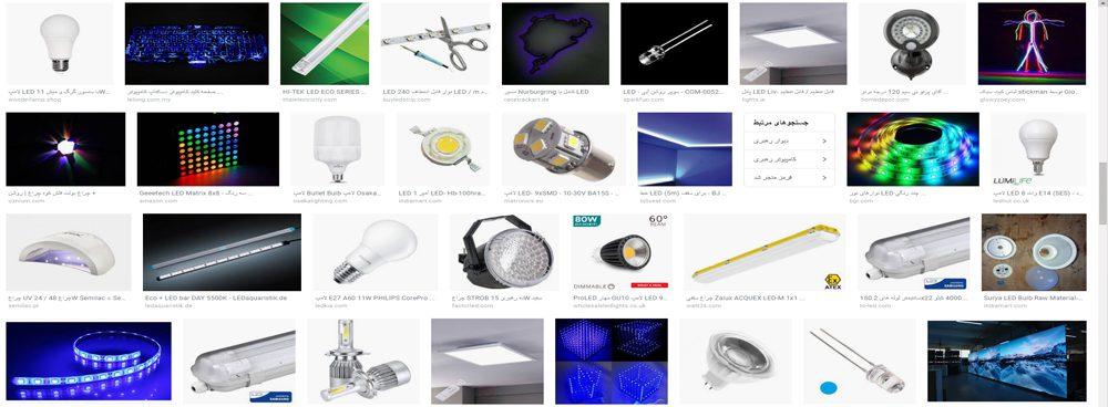 کاربردهای LED