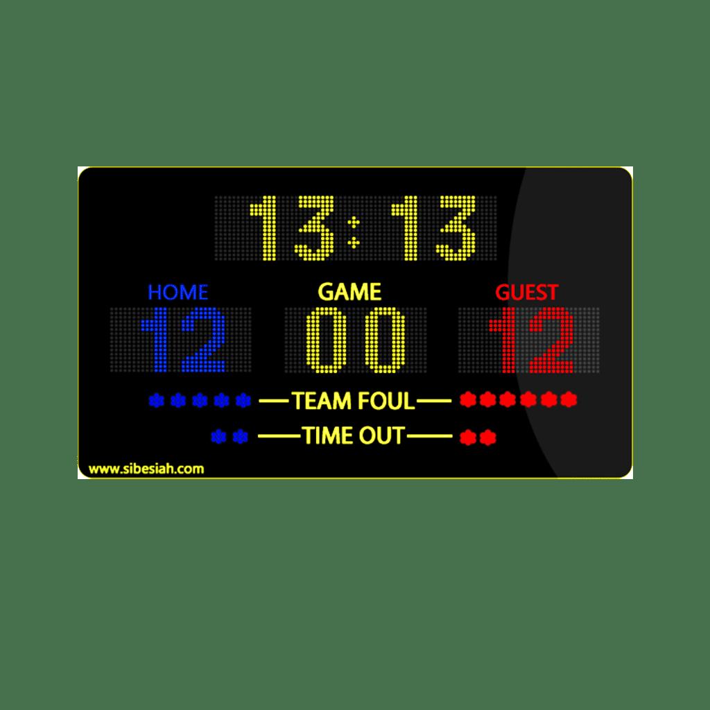 اسکوربرد ورزشی دیجیتال چند منظوره M70