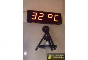 ساعت و تقویم دیجیتال تایمر و کرنومتر دیجیتال دما سنج و رطوبت سنج دیجیتال سالنی تهران