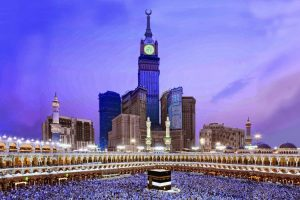 ساعت برج رویال در مجتمع ابراج البیت