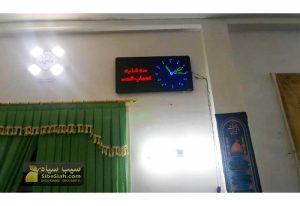 ساعت دیجیتا مسجدی حرم اذانگو مذهبی آمل