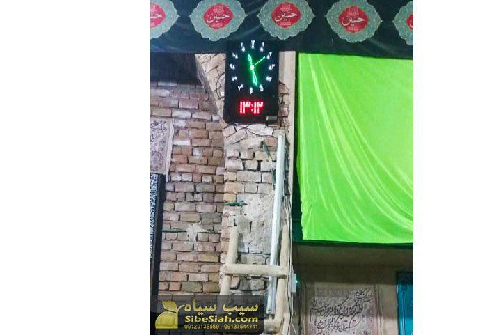 ساعت دیجیتال نمازخانه ای مذهبی حرم اذانگو طاس تپه همدان