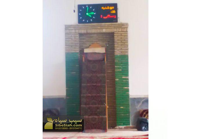 ساعت دیجیتال مذهبی حرم نمازخانه مسجدی اذان گو کلقان تبریز