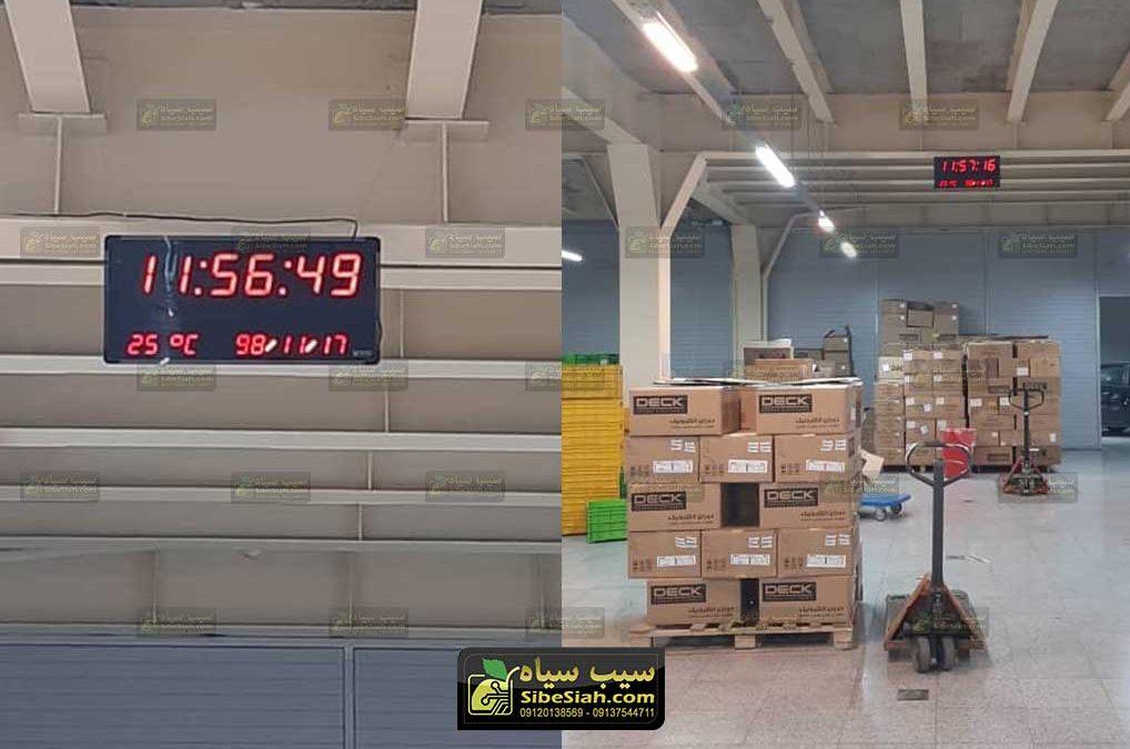 ساعت و تقویم و دماسنج دیجیتال مدل 3570 – دوران الکترونیک کرج