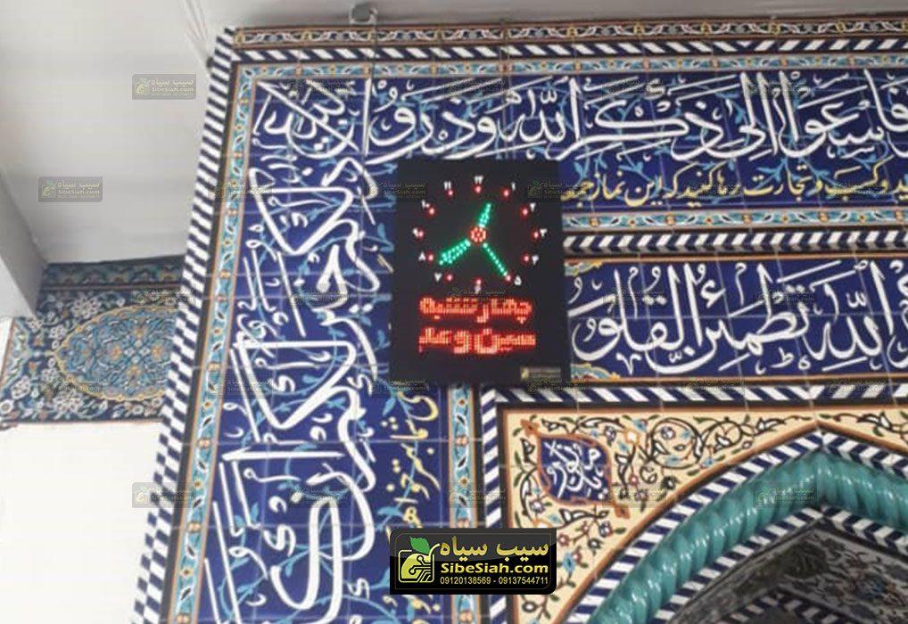 ساعت دیجیتال مسجدی اذانگو مدل sk2 عمودی.شهرستان رومشکان