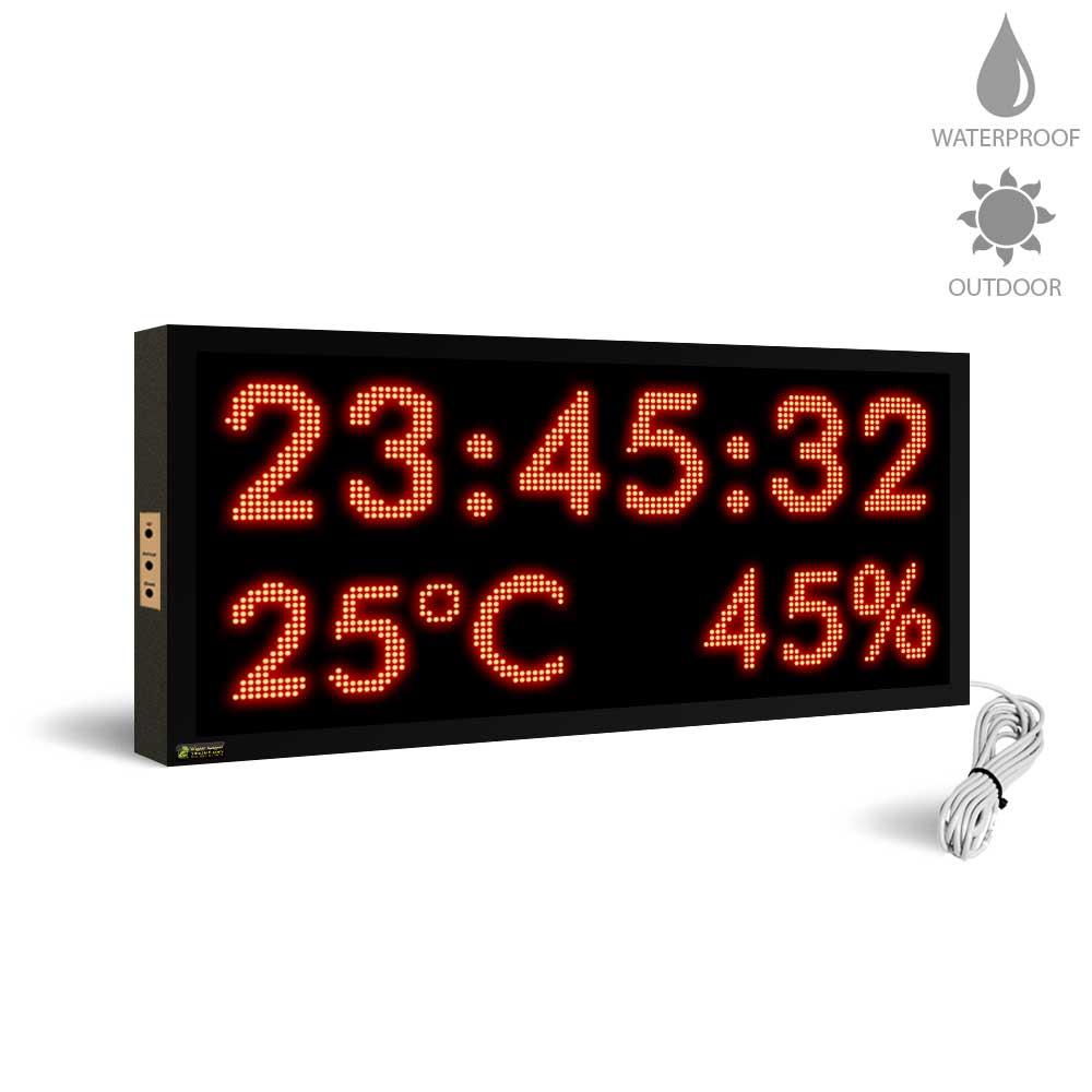 دماسنج و رطوبت سنج دیجیتال ضد آب مدل MCHT42