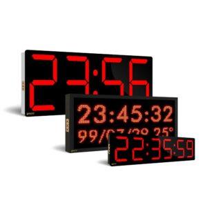 انواع ساعت دیجیتال رومیزی و دیواری صنعتی، کارگاهی و خانگی