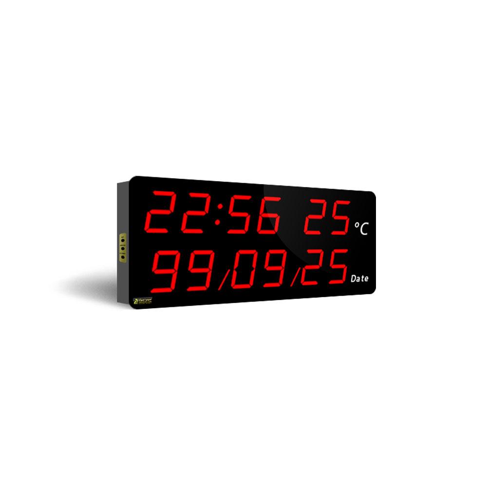 ساعت و تقویم دیجیتال دیواری مدل CDT25