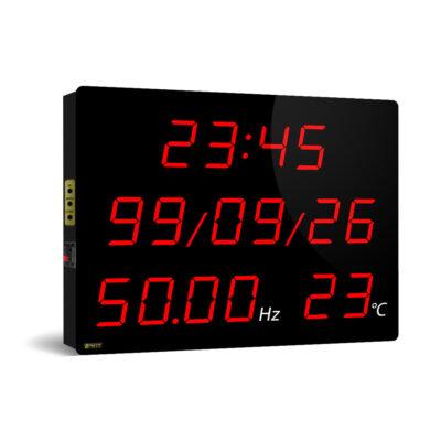 فرکانس متر دیجیتال دیواری بزرگ مدل FRDT5050