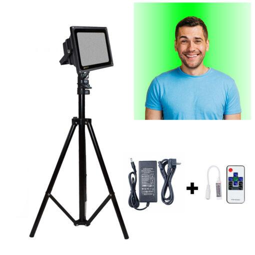 نور بک لایت رنگی RGB برای پس زمینه ویدئو